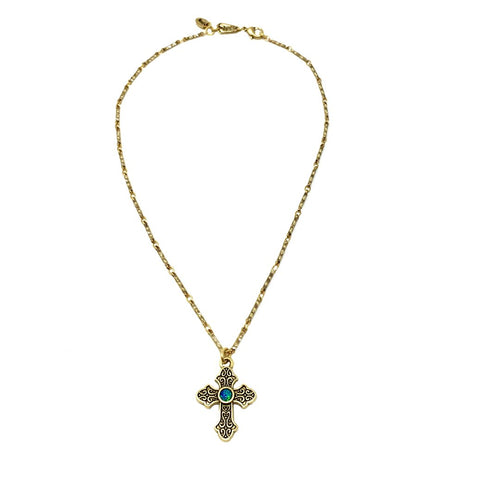 El Shaddai Cross Necklace