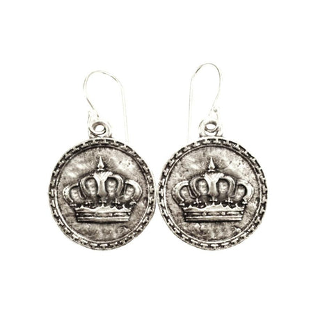 God is King Earrings