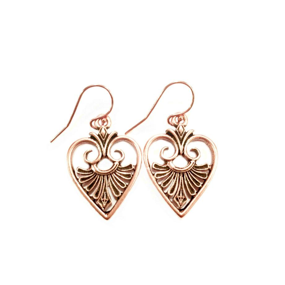 jewelry message heart earrings her romantic hidden gifts thumbnail for product