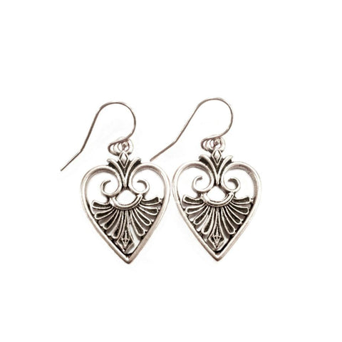 God is Love Heart Earrings