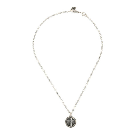 IXOYE Cross Coin Necklace