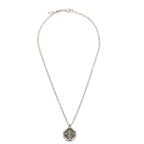 Trinité Cross Coin Necklace