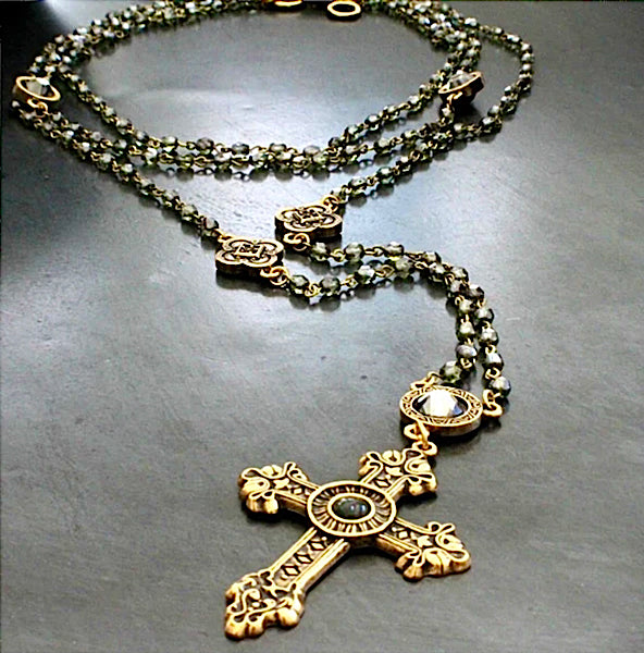 bbeni christian rosary style necklaces