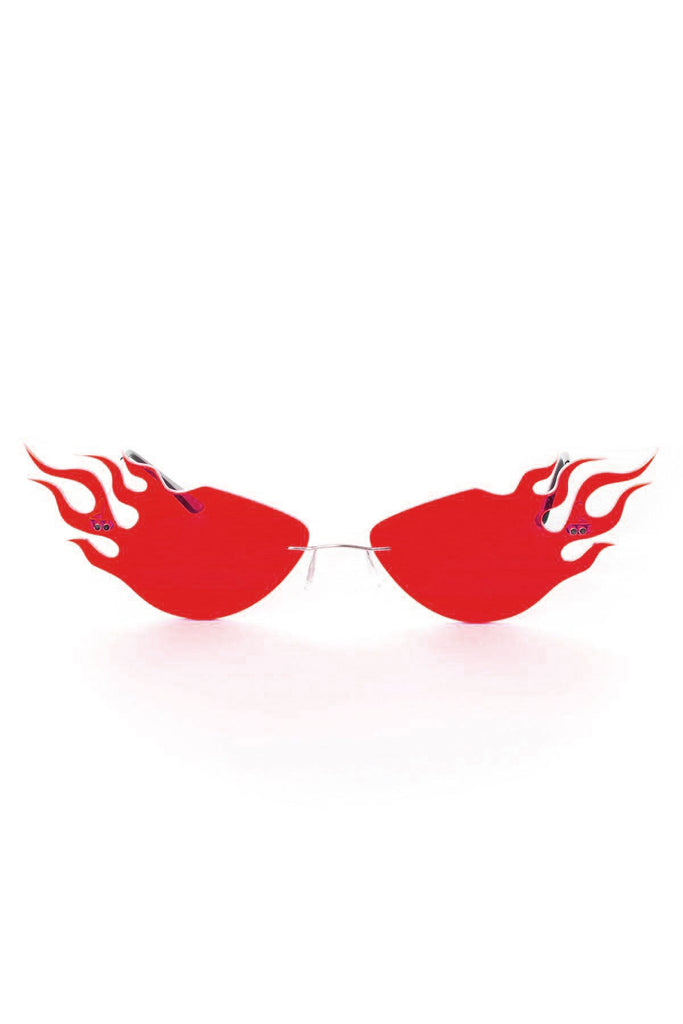 METEOR SUNGLASSES | RED