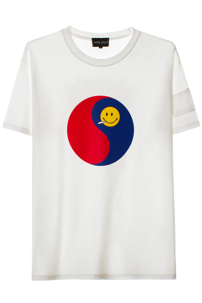 LOGO SMILEY TEE
