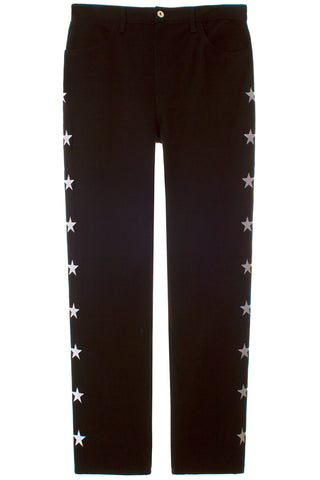 STAR STRIPED JEANS