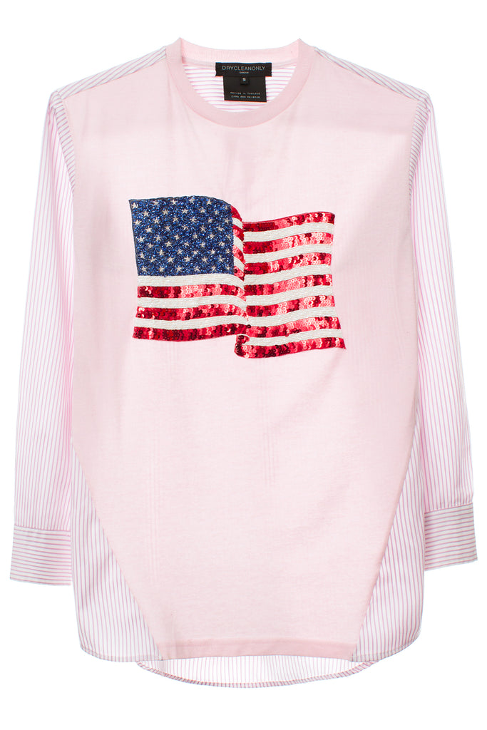 IRVING SHIRT W/US FLAG