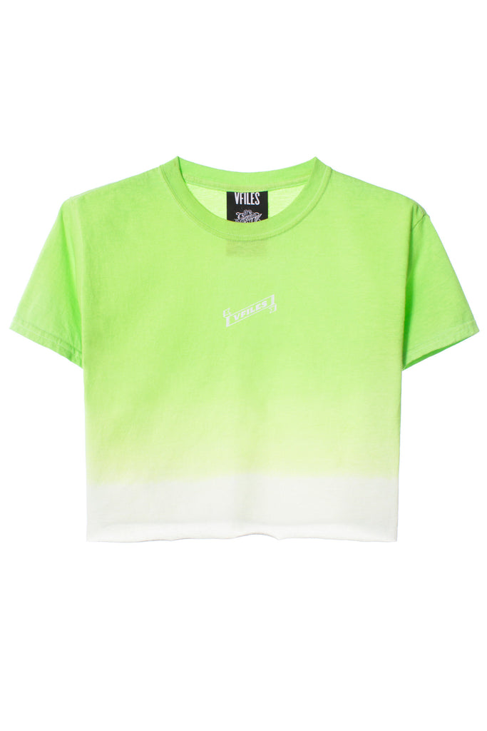 VFILES + MTN DEW GRADIENT CROPPED T-SHIRT