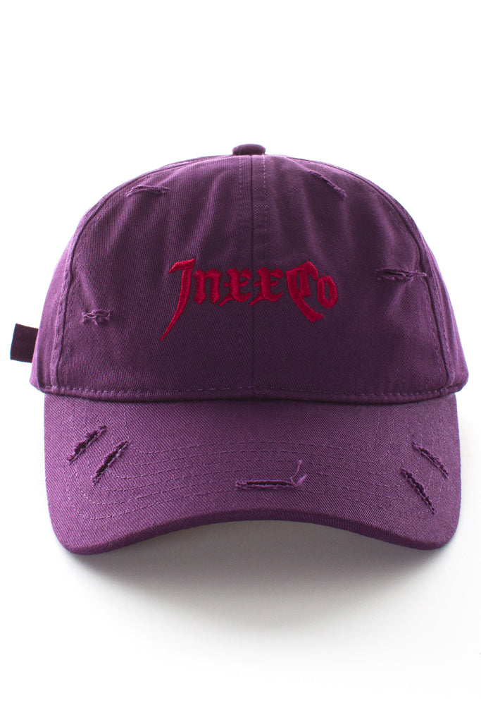 PURPLE CAP W/ LOGO