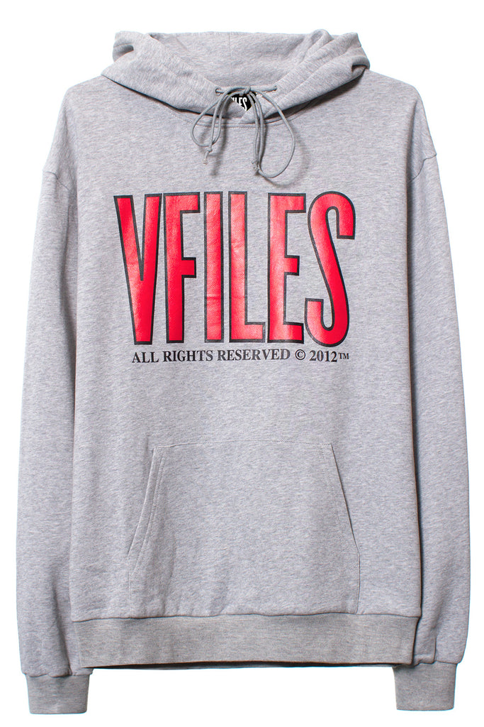VFILES ALL RIGHTS RESERVED | OVERSIZED HOODIE