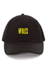 VFILES BASICS LOGO CAP | BLACK-YELLOW