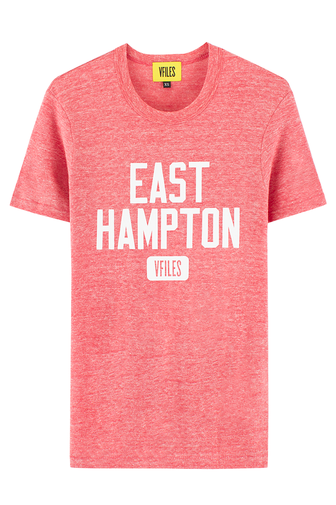 RED EAST HAMPTON T-SHIRT