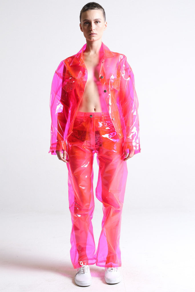 Crystalline Pink Trouser