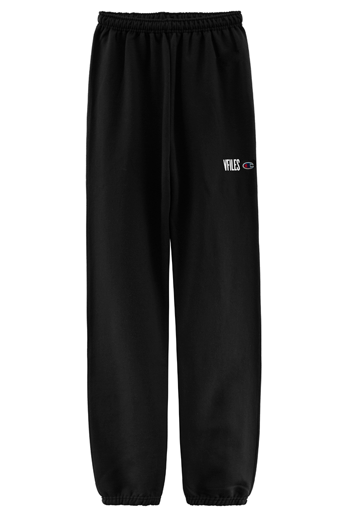 VFILES BLUR SWEATPANTS | BLACK-WHITE