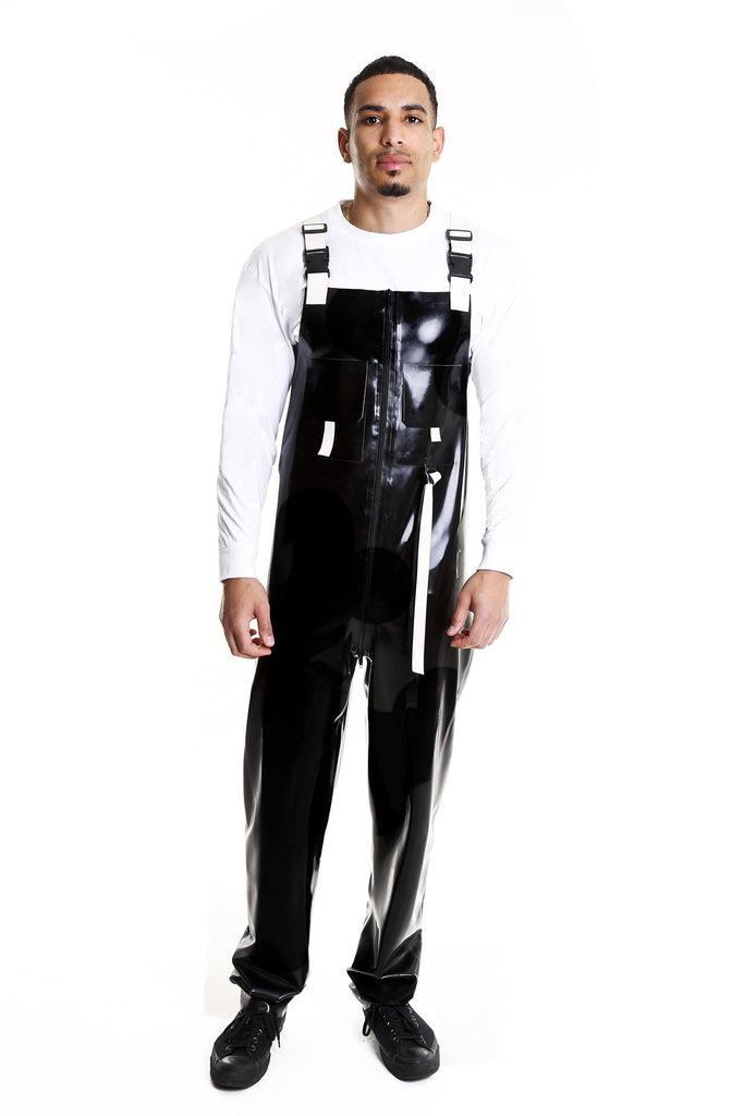 TOXIC BLACK TOXIN DUNGAREES