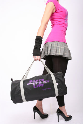Dance Class Bag <br>Barrel - Black
