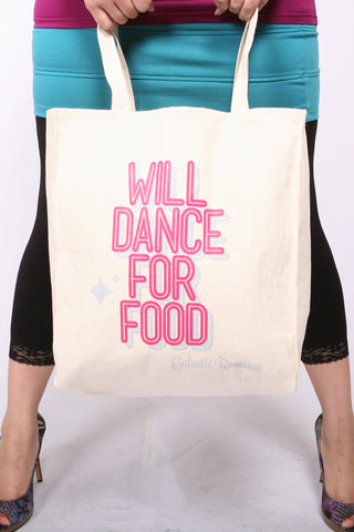 Dance Shop Bag <br>Canvas