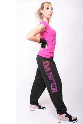 Dot Dancer <br>Sweatpants - Black
