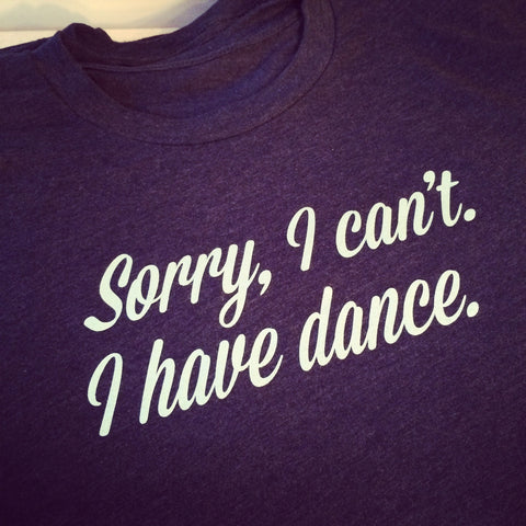 Sorry, I Can't I Have Dance. <br> Crew- Midnight Blue