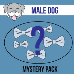 Dog Mystery Bow Packs - Male