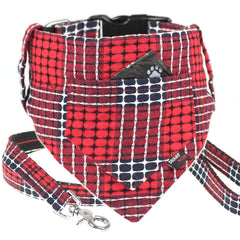Dog Bandana, Collar and Leash Set : Cross Stitch