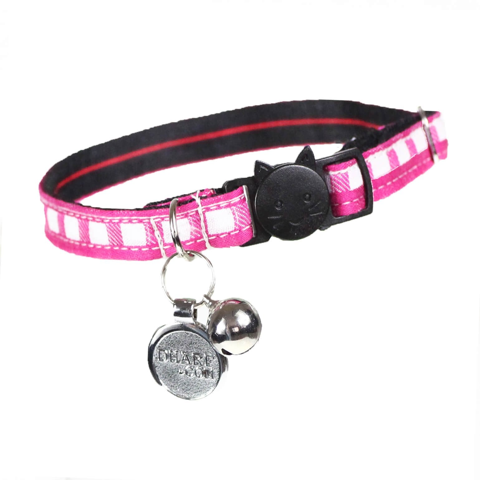 Cat Collar and Bow Tie :  Pink Mix and Match - Dharf - 2