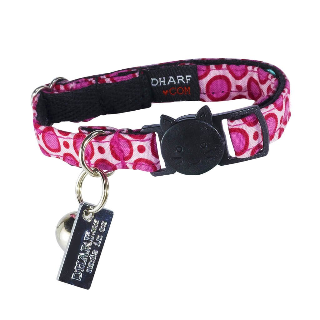 Non-discriminatory Cat Shirt Collar - Pink Dotty - Dharf - 2