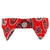 NEW Red Paisley Cat Shirt Collar Set