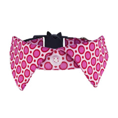 Non-discriminatory Cat Shirt Collar - Pink Dotty