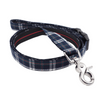 Dog Leash : CLASSIC PLAIDS NAVY