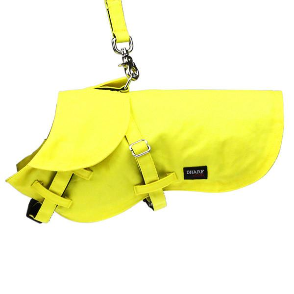 Dog Jacket and Lead Set : Yellow - Dharf - 1