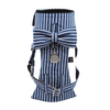 Cat Bow-tie Harness - Blue & White Stripes