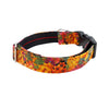 NEW Dog Blouse Collar : Autumn Flowers