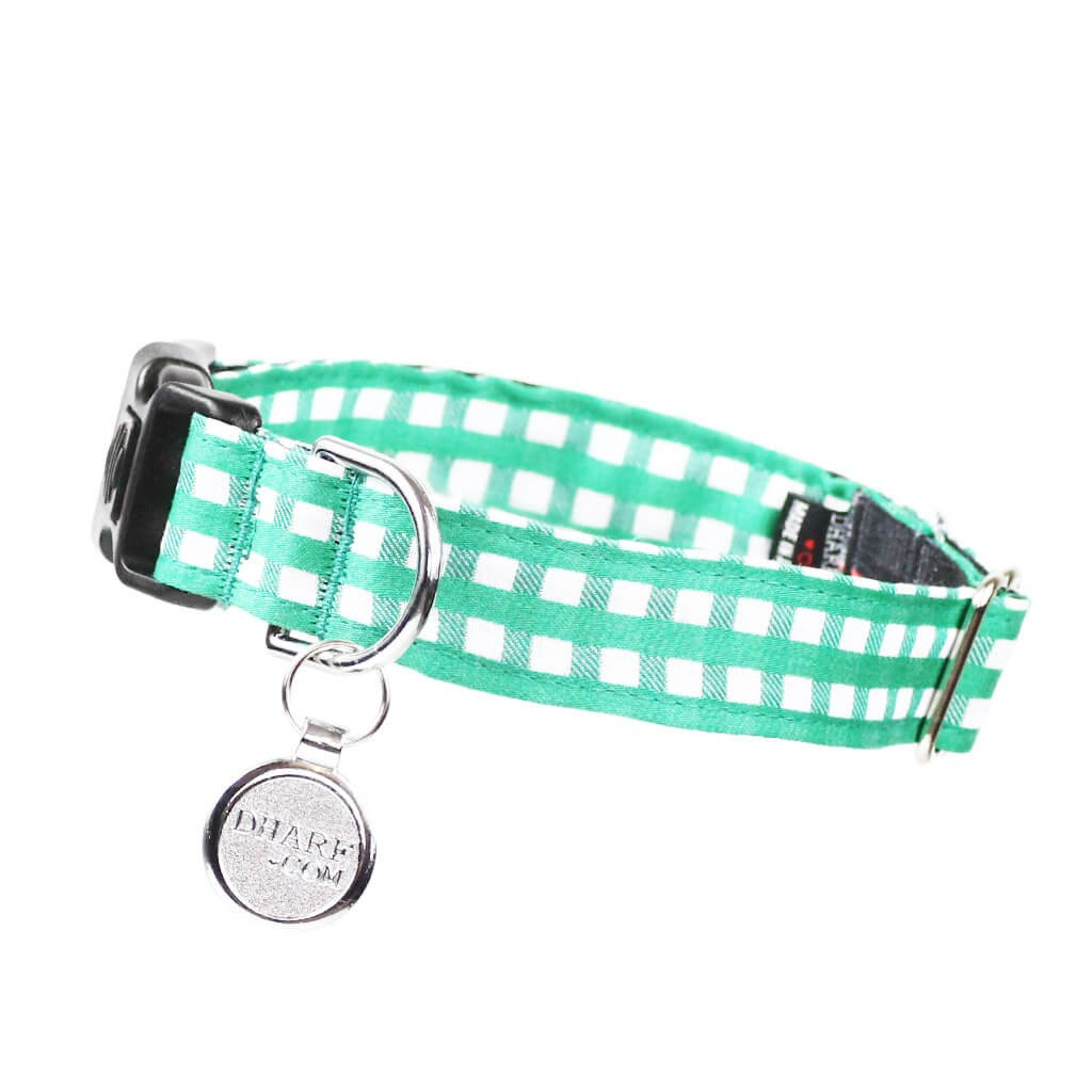 Dog Bow Tie and Collar Set : Green Mix and Match - Dharf - 5