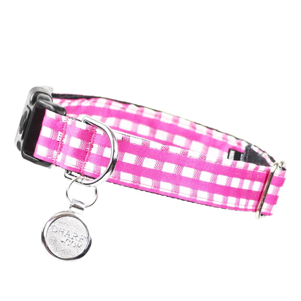 Dog Collar, Bow tie and Leash Set : Pink Mix and Match - Dharf - 6