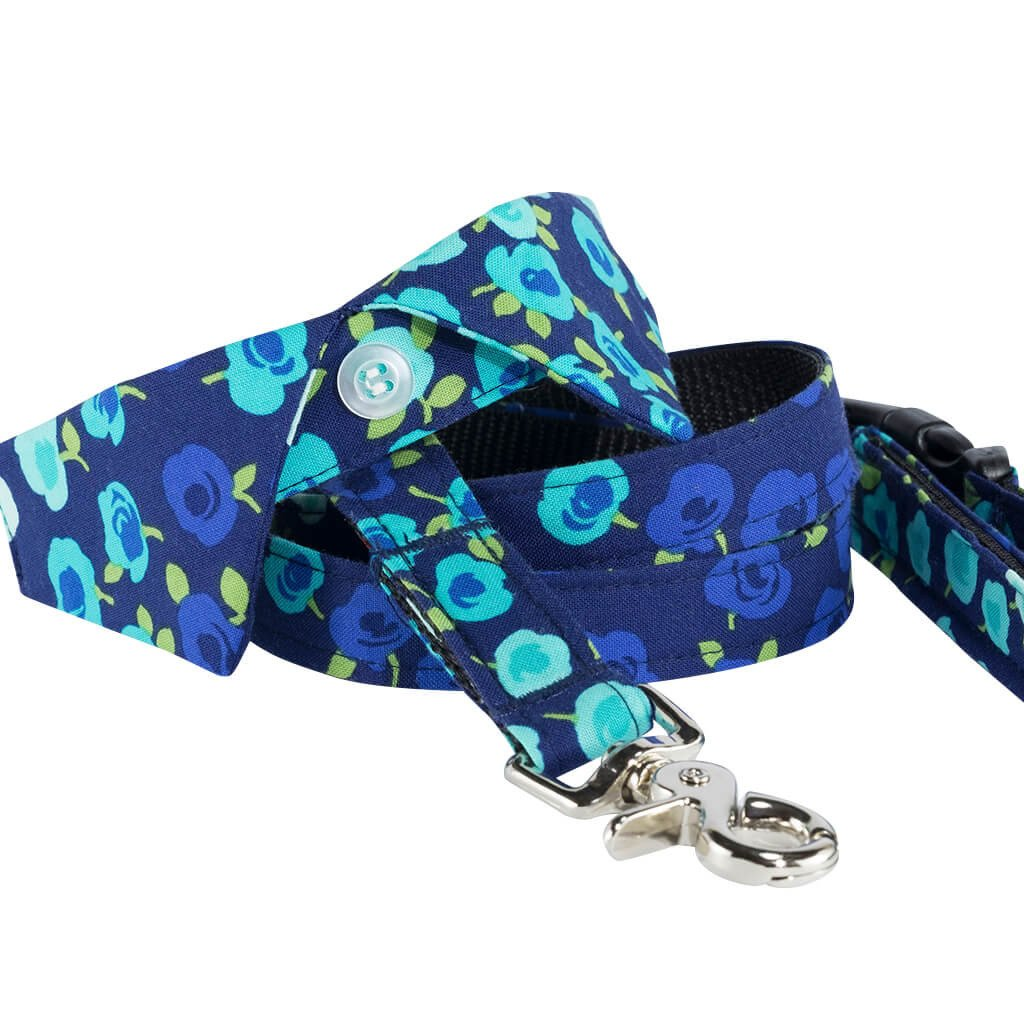 Show Stopper Floral Dog Shirt Collar and Leash Set - Dharf - 1