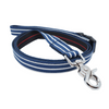 NEW Dog Leash : BLUE & WHITE STRIPES
