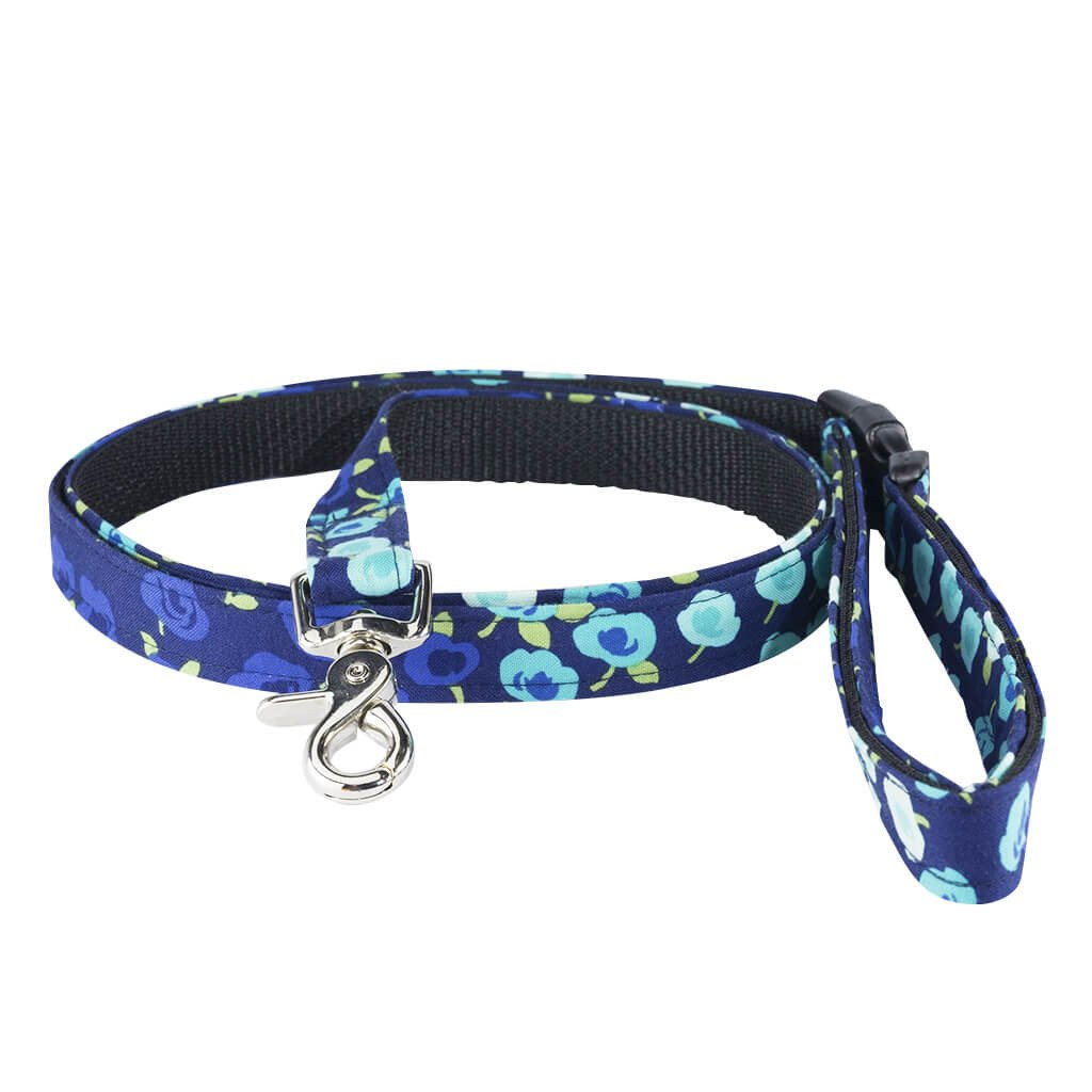 Show Stopper Floral Dog Leash - Dharf - 1