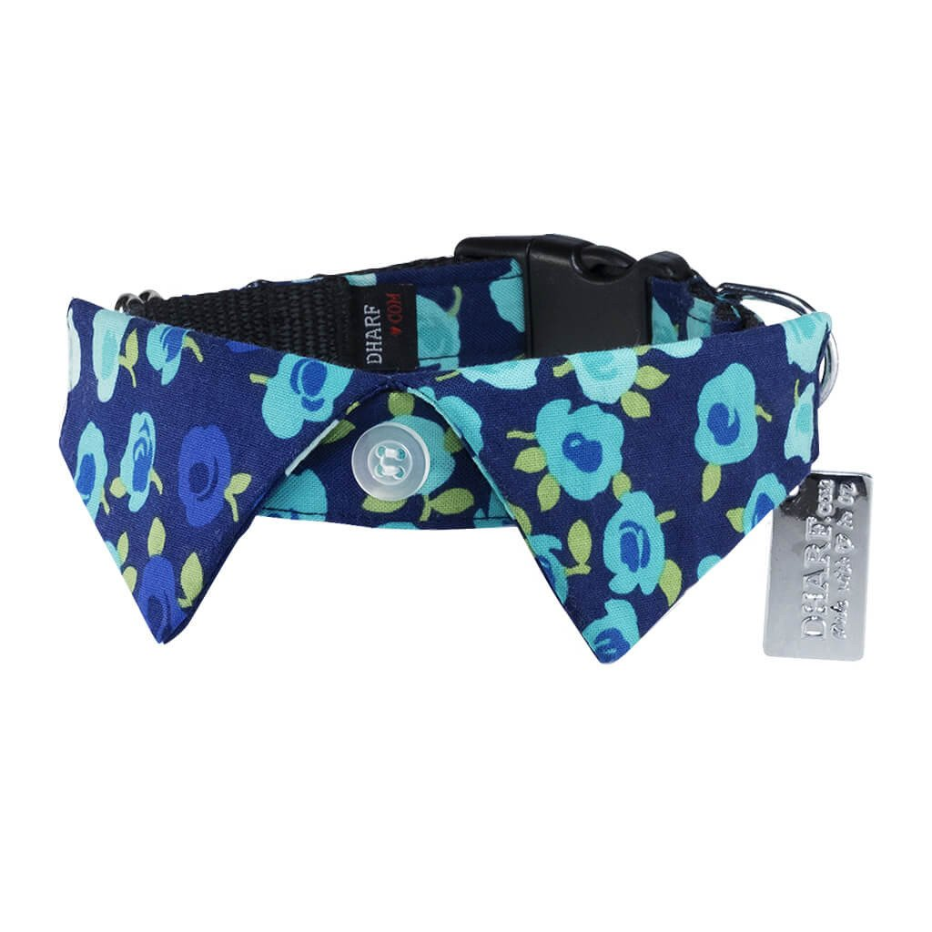Show Stopper Floral Dog Shirt Collar and Leash Set - Dharf - 4