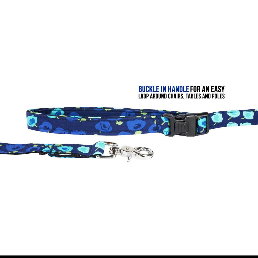 Show Stopper Floral Dog Leash
