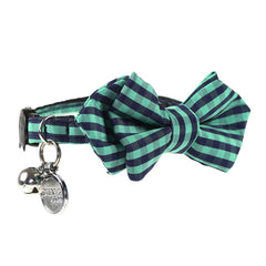 Envy Diamond Point Cat Bow Tie Collar