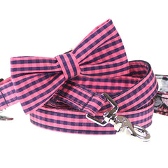Bardot Bow Tie Collar and Leash Set