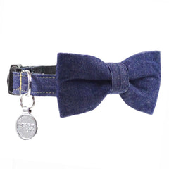 Dog Bow Tie and Collar Set : Jean