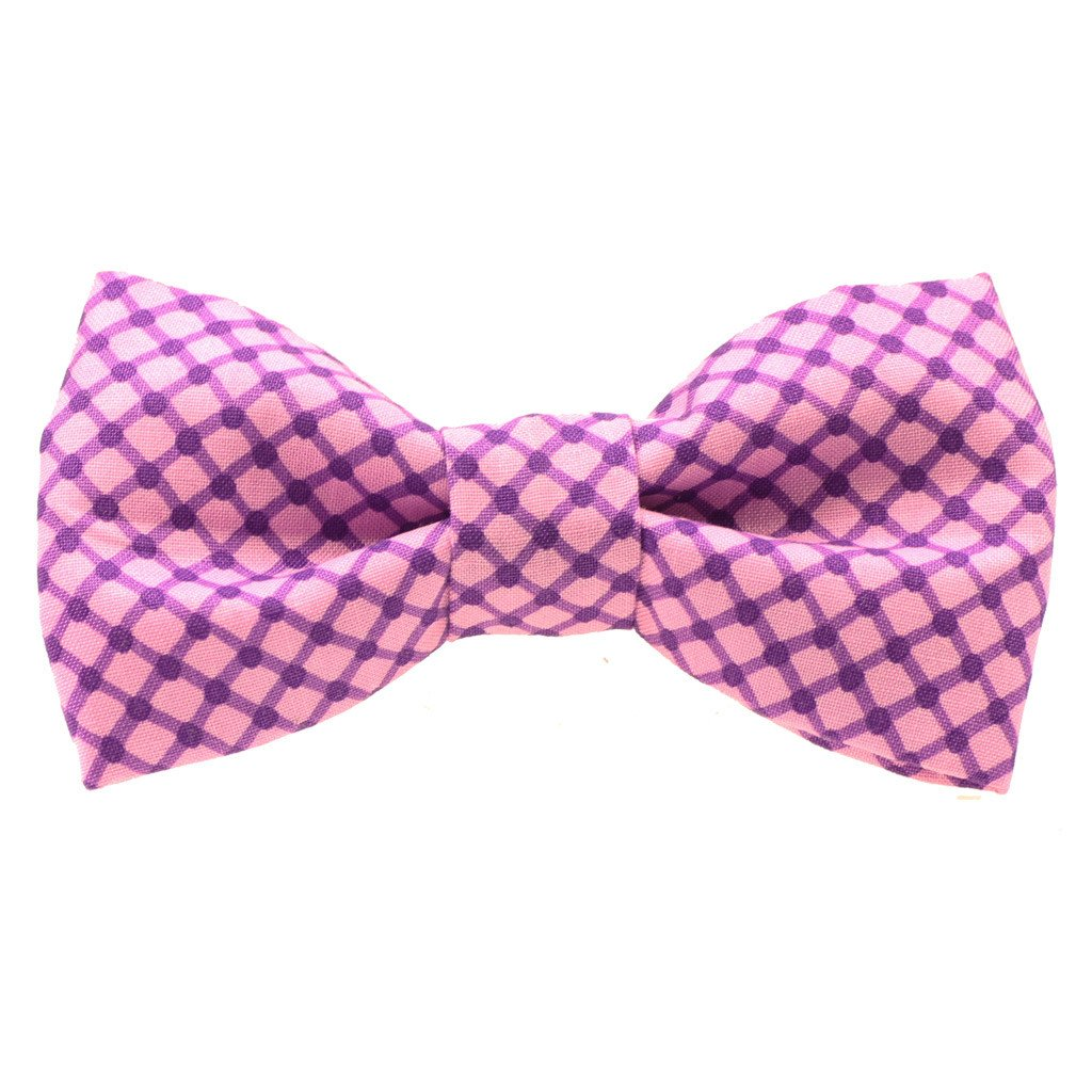 Dog Bow Tie and  Collar Set : Shades of Purple - Dharf - 4
