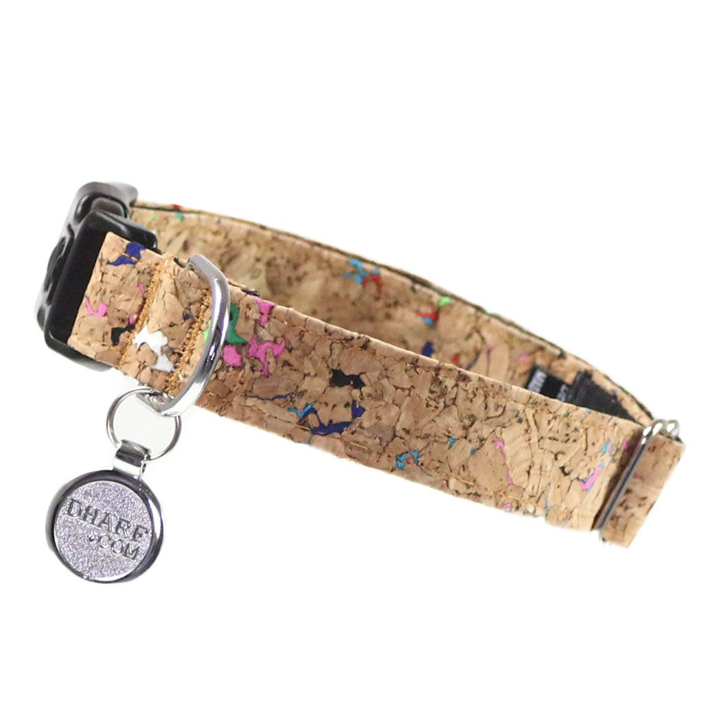 Dog Collar, Bow tie and Leash Set : Cork