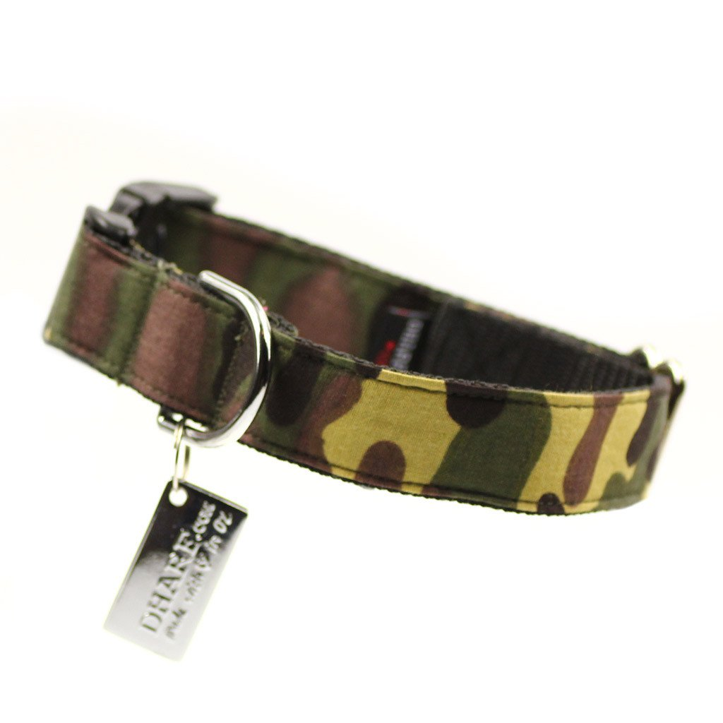 Dog Collar : Army green - Dharf