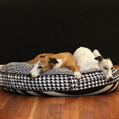 Cloud Bed: Black Reversible Dog Bed