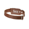 Kangaroo Leather Dog Collar Set - Whisky Brown. Hand crafted in Australia