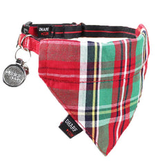 Cat Bandana and Collar :  Scottish Tartan