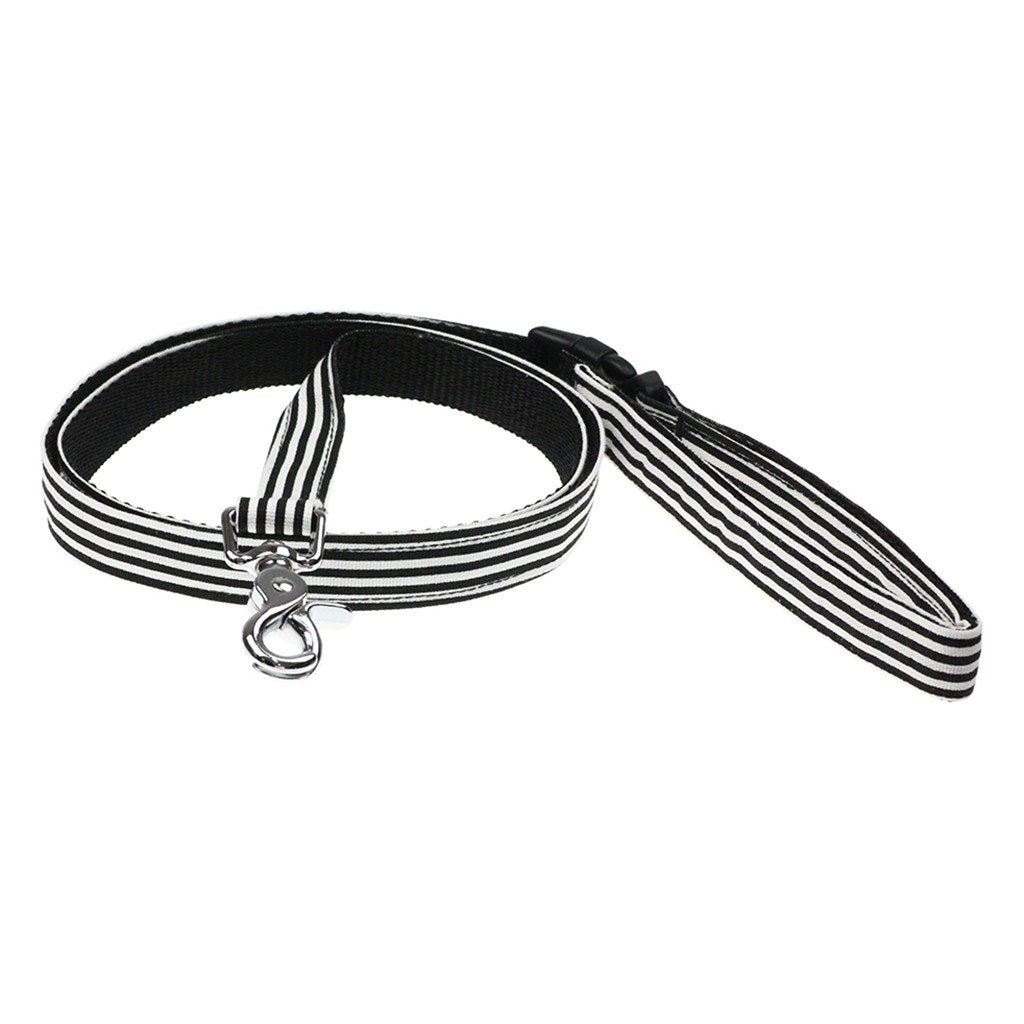 Dog Leash : Black & White Clever You - Dharf - 1